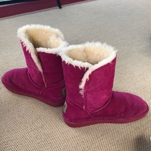 BearPaw Shoes - Pink Bear Paw boots